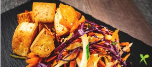 MACRO MEAL Chilli & Ginger Tofu Served With Slaw